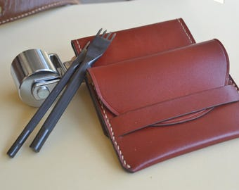 Wallet handmade and Name card (Buy one get one free.)