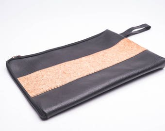 Upcycled Cork Rubber Laptop Case