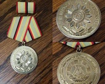 Cold War East German Police Medal