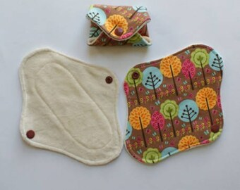 Fabric Eco bamboo panty liner
