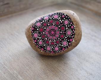 Mandala stone pink