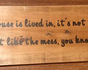 Wood Plank Home Decor