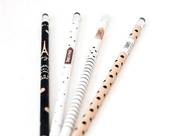 Pencils France style | Cool Pencils | Fashion Pencils