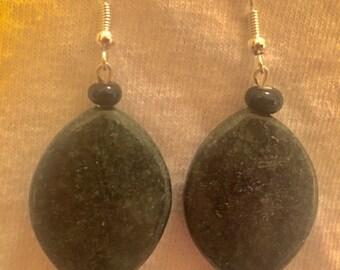 Polished Stone Earrings