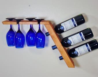 free wooden wine rack