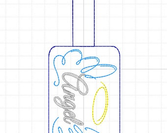 AngelWings Keychain, digital file.