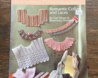 Knit-a-bead, Crochet-a bead - Romantic Collars and Laces