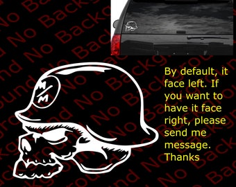 Ram Skull Etsy - F250 decalsmulisha skullxwindow bed decal decals f f ram