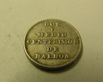 Panama 1940 Balboa Coin