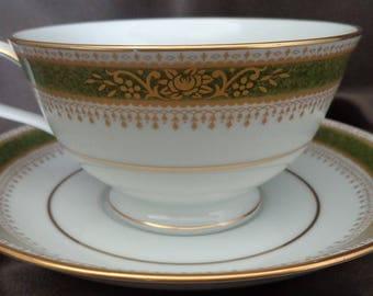 Noritake  Perdita Pattern Cup/Saucer