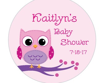 """Baby / Bridal Shower 2 inch Labels, Tags, Stickers """"My Shower To Yours"""" CUSTOMIZABLE!"""