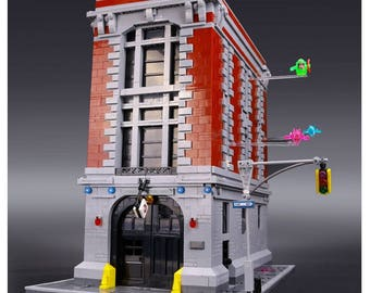 FREE Shipping 4695Pcs Ghostbusters Firehouse Headquarters Model