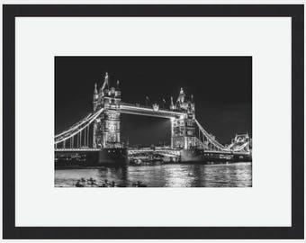 London Print, Tower Bridge Canvas