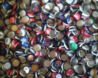 200 Recycled Beer Bottle Caps + 100 bonus mixed lot
