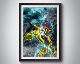Knights of the Zodiac: Death Mask, Gold Saint of Cancer