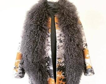 Mongolian Fur Vest - Downy