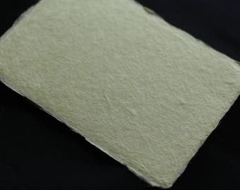 Fabric dyeing handmade Japanese paper (paper mulberry dyeing)