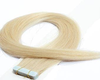 Straight Tape In Human Hair Extensions Hair Skin Weft Hair Extensions (20 pieces)
