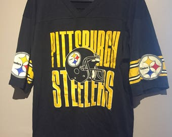 Vintage '80s/'90s Pittsburg Steelers Jersey T Shirt