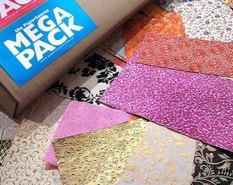 Mega Pack • Handmade Paper Assortment