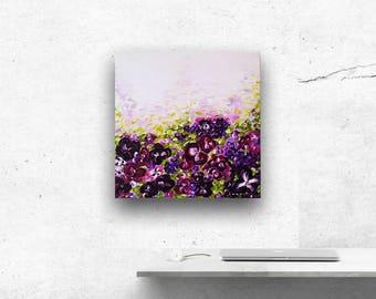 Violet Orchids - Original Painting