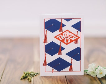 Graduation Card - Cap Twenty 17
