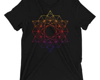 Sacred Geometry T-Shirt - Festival Clothing - Sacred Geometry Clothing