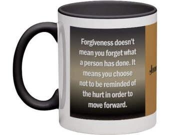 Forgiveness Coffee Mug - 11 oz (Personalized)