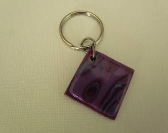 Mokume gane Key Chain