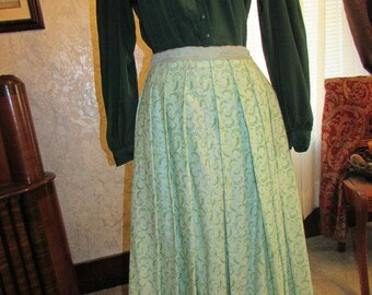 1860s style or western style two piece wash dress