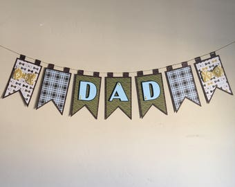 "Father's Day ""Dad"" Banner"