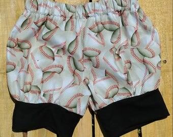 Baseball bubble shorts