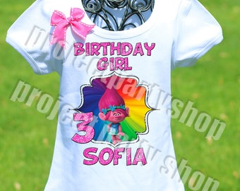 Trolls Birthday Shirt