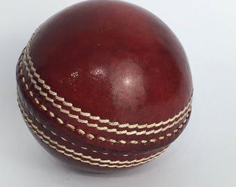 Traditional british Cricket ball