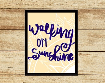 Walking on Sunshine Digital Download