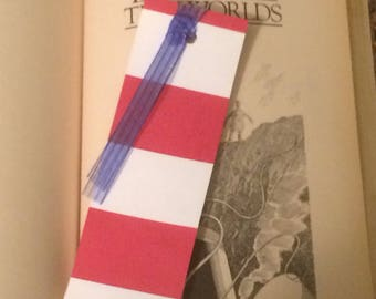 NAUTICAL STRIPE BOOKMARK