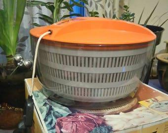 vintage Zyliss Salad dryer, 1970s kitchenalia Salad days