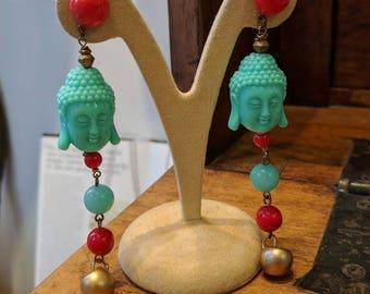 Orecchini Budda