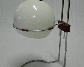 Very rare Czechoslovakian design desk lamp.
