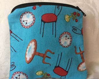 Time Again Coin Pouch