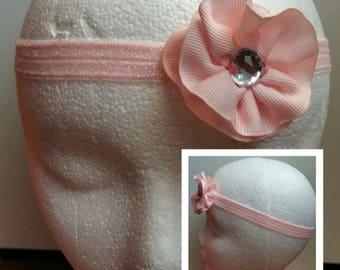 Soft Pink Stretch Headband