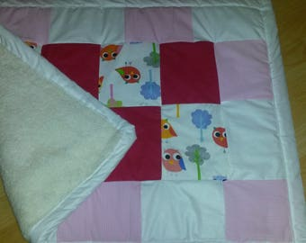 crawl patchwork blanket 70 x 100