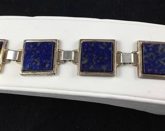 Lovely Vintage Blue Stone Bracelet