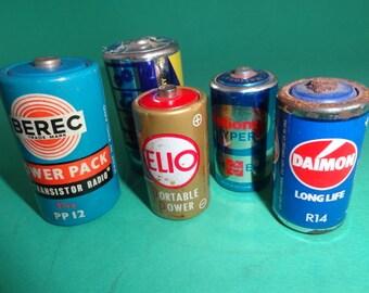 Vintage Batteries Etsy