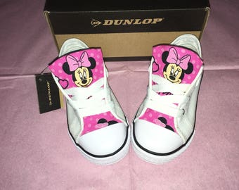 Minnie Mouse customised Dunlop