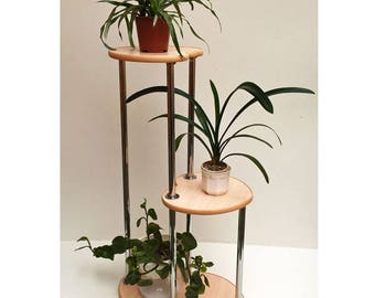 "Free ship! Plant stand ""Monaco"". Flower stand - Indoor plant stands - Plant holder -Plant table - Stand for flowers - Flower shelf - Shelf"