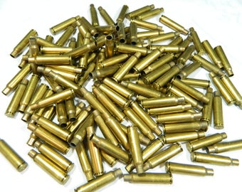 Lot of (128) 7.5 x 55 GRAF Empty Brass Bullet Casings / Shells for Crafts, Art, Reloading