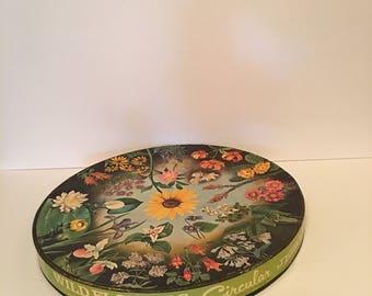 Vintage Wildflower Jigsaw Puzzle