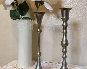 Vintage Candlestick Set