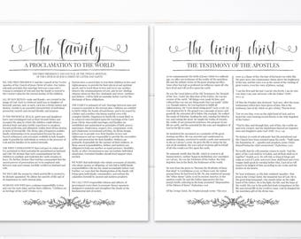 """LDS Family Proclamation 